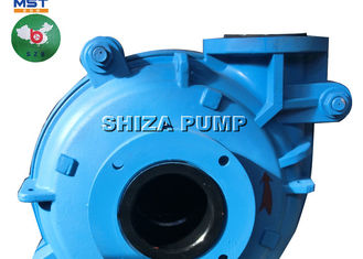 Cina Centrifugal Cover Plate Liner Rubber Lined Slurry Pump Gear Reducer Didorong pemasok