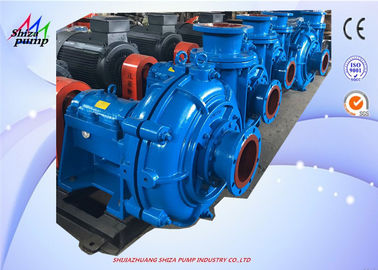 Cina 150ZJ - A50 High Chrome Metal Horizontal Centrifugal Slurry Pump , Pompa Sentrifugal Satu Tahap pemasok