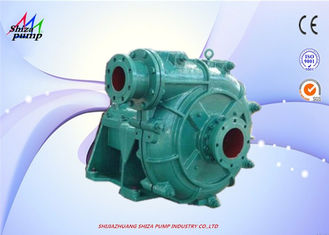 Cina 3 Inch Abrasive Heavy Duty Slurry Pump Dengan Rubber Coated Impeller 5 - 118m Head pemasok