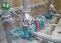 Flow Rate High Head Centrifugal Slurry Pump 70m3 / H Dengan Impeller Yang Disesuaikan Tahan Lama