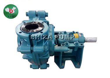 Cina Industrial Acid Electric Rubber Lined Slurry Pumps CR DC CL ZVZ Solids Handling pabrik